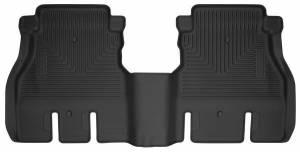 HUSKY LINERS #54631 18-   Jeep JL 4 Door Rear Floor Liners Black