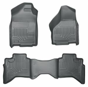 HUSKY LINERS #98032 02-08 Ram 1500 Quad Cab Front/2ND Seat Liners