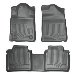 HUSKY LINERS #98512 07-11 Toyota Camry Front /2nd Floor Liners Grey