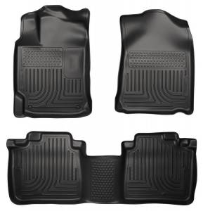 HUSKY LINERS #98541 09-11 Toyota Venza Front & 2nd Seat floor Liners