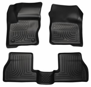 HUSKY LINERS #98771 12-  Ford Focus Front/ 2nd Floor Liners Black