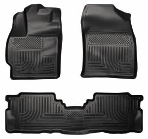 HUSKY LINERS #98911 12-   Toyota Prius Front & 2nd Seat Floor Liners