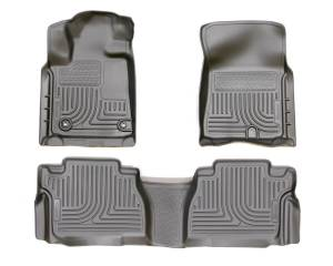 HUSKY LINERS #99561 14-   Tacoma Front Floor Liners Black