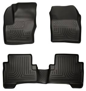 HUSKY LINERS #99741 13-  Ford C-Max Front/ 2nd Floor Liners Black