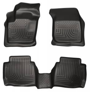 HUSKY LINERS #99751 13-  Ford Fusion Front/ 2nd Floor Liners Black