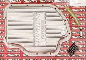 HUGHES PERFORMANCE #HP2280 Aluminum Trans Pan Deep GM TH400
