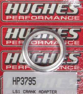 HUGHES PERFORMANCE #HP3795 Crank Adapter for GM LS Engines