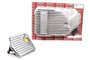 HUGHES PERFORMANCE #HP3880 Aluminum Trans Pan Deep GM TH200R4
