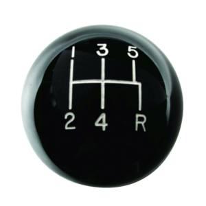 HURST #1630114 Mustang 5-Speed Black Classic Shift Knob