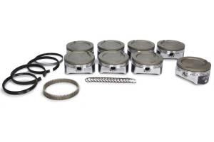 ICON PISTONS #IC529CAKTS.010 LS 6.0/6.2L Dish Forged Piston/Ring Set 4.010