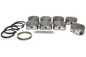 ICON PISTONS #IC531CAKTS.010 LS 6.0L/6.2L FT Forged Piston/Ring Set 4.010