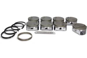 ICON PISTONS #IC533CAKTS.010 LS 6.0/6.2L Dish Forged Piston/Ring Set 4.010