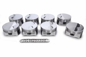 ICON PISTONS #IC545C.030 LS 5.3L FT Forged Piston Set 3.810 Bore