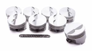 ICON PISTONS #IC792.030 SBC Forged F/T Piston Set 4.030 Bore -4.86cc