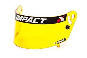 IMPACT RACING #12199904 Shield Amber Anti-Fog Vapor/Charger/Draft
