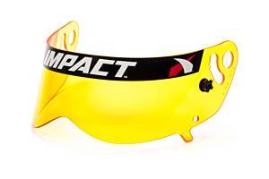 IMPACT RACING #13199904 Shield Amber Anti-Fog Champ/Nitro
