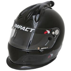 IMPACT RACING #17015410 Helmet Super Charger Medium Black SA2015