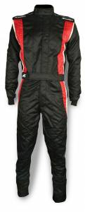 IMPACT RACING #25215407 Suit Phenom Medium Black / Red