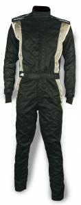 IMPACT RACING #25215513 Suit Phenom Large Black / Gray