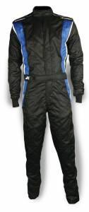 IMPACT RACING #25215606 Suit Phenom X-Large Black / Blue