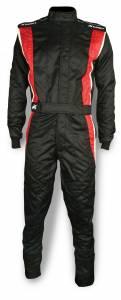 IMPACT RACING #25215707 Suit Phenom XX-Large Black/ Red