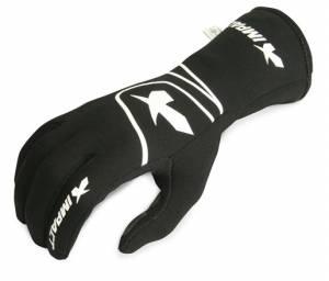 IMPACT RACING #34200510 Glove G6 Black Large SFI 3.3/5