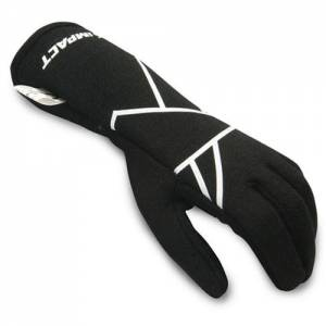 IMPACT RACING #38500410 Mini Axis Glove Medium Black Youth
