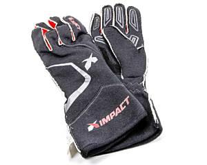 IMPACT RACING #39000610 Alpha Glove X-Large Blk