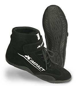 IMPACT RACING #41008510 Shoe Axis Black 8.5 SFI3.3/5