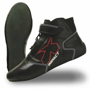IMPACT RACING #45007010 Shoe Phenom Black 7 SFI3.3/5