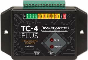 INNOVATE MOTORSPORTS #3915 TC-4 Plus Thermocouple Amplifier for MTS