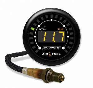INNOVATE MOTORSPORTS #3924 MTX-L Plus Digital Air/ Fuel Ratio Gauge Kit