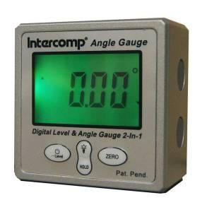INTERCOMP #102144 Digital Angle Gauge w/Magnetic Base