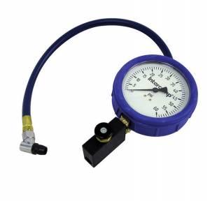 INTERCOMP #360087 Air Pressure Gauge Fill Bleed & Read 4in