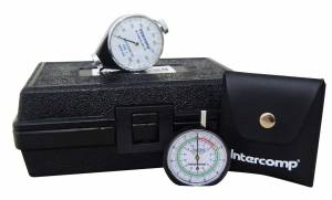 INTERCOMP #360110 Durometer & Tread Depth Gauge Set