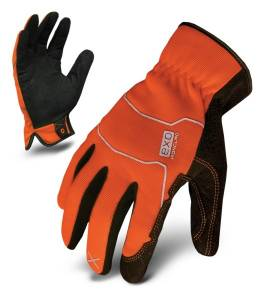 IRONCLAD #EXO2-HSO-04-L EXO Hi-Viz Utility Safety Orange Large