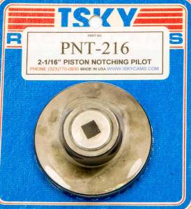 ISKY CAMS #PNT-218 Piston Notching Cutter - 2-1/8in