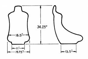 JAZ #100-150-01 Turbo Pro Seat