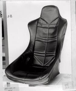 JAZ #150-151-01 Turbo Pro Seat Cover Black Vinyl
