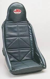 JAZ #150-301-01 Drag Race Seat Cover Black Vinyl