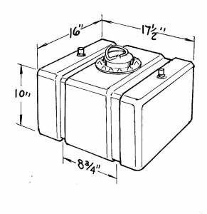JAZ #200-012-01 12-Gallon C/T Fuel Cell