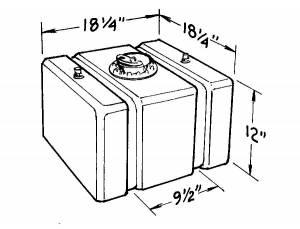 JAZ #200-116-01 16-Gallon C/T Fuel Cell