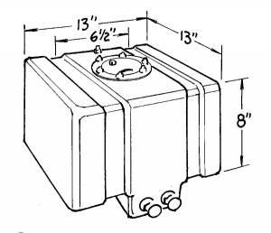 JAZ #250-005-01 5-Gallon Drag Race Cell