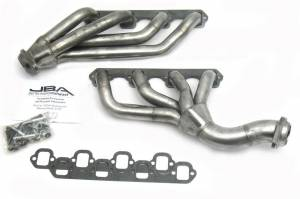 JBA PERFORMANCE EXHAUST #1655S S/S Headers - 65-73 Mustang w/Clutch Cable