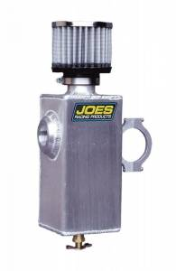 JOES RACING PRODUCTS #12402 Dry Sump Breather Tank 1-1/2in Clamp On
