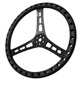 JOES RACING PRODUCTS #13513-B 13in LW Steering Wheel Alum Dished