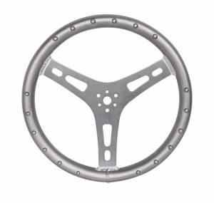 JOES RACING PRODUCTS #13550-A Matador Steering Wheel Aluminum 15in Flat