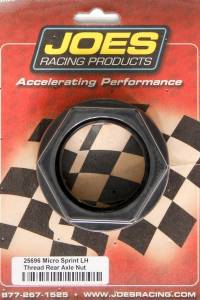 JOES RACING PRODUCTS #25696 Axle Nut LH Thread Mini Sprint