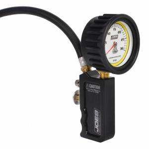 JOES RACING PRODUCTS #32490 Tire Inflator 0-30psi Analog Billet Quick Fill