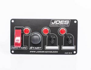 JOES RACING PRODUCTS #46125 Switch Panel Ing/Start w/2 Acc Switches